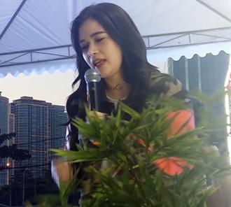 Bela Padilla - Bella Padilla performing at MMDA Anniversary in November 2016