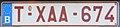 Belgium taxi license plate.jpg
