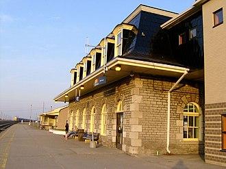 Belleville railway station - Image: Belleville VIA Station