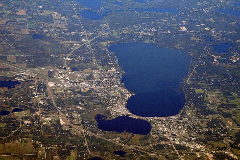 Bemidji, Minnesota aerial