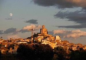 Ribagorça - View of Benabarre (Benavarri), the former capital of the region.