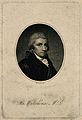 Benjamin Waterhouse. Line engraving by R. Reeve, 1801. Wellcome V0006156.jpg