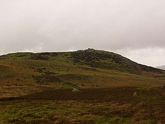 New Luce - Image: Bennan of Garvilland iron age hill fort. geograph.org.uk 435198