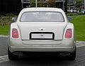 Bentley Mulsanne – Heckansicht (3), 30. August 2011, Düsseldorf.jpg