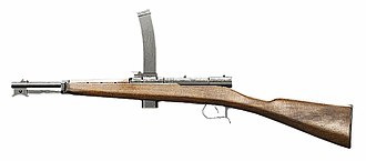 Submachine gun - Beretta Model 1918
