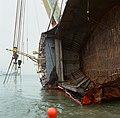 Berging kruiplijn Coaster Susanne in de Westerschelde door de firma Smit tak ID52516.jpg
