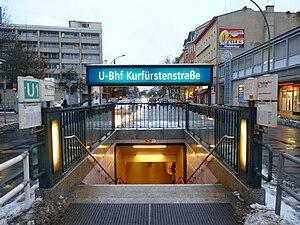 Kurfürstenstraße (Berlin U-Bahn) - East access stairs