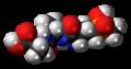 Bialaphos molecule spacefill.png