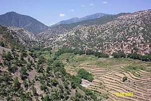 Korangal Valley - Image: Bibiyal Ali Abad, Korengal Valley, Kunar Province, Afghanistan