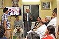 Bikas Chandra Sanyal Addresses - Opening Ceremony - PAD 5th Free Short Term Course On Photoshop - Kolkata 2018-02-10 1264.JPG