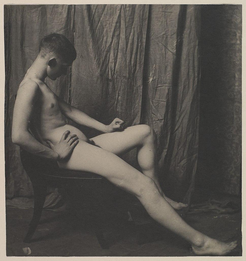 Bill Duckett Nude, at the Art Students' League of Philadelphia