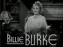 Billie Burke in Remember? trailer.jpg
