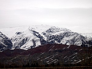 Nishapur County - Mount Binalud, located within the county.