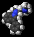 Binedaline molecule spacefill.png