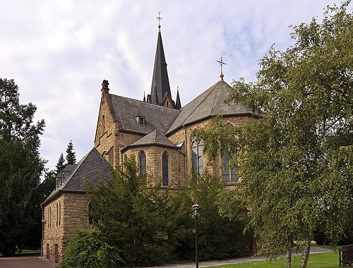 Bingen-Dietersheim Katholische Kirche 20100910