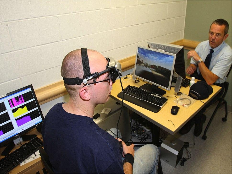 Biofeedback training program for post-traumatic stress symptoms