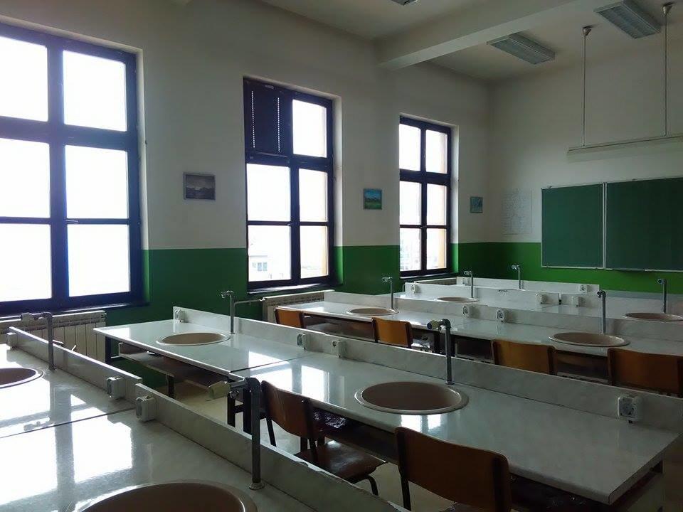 Bioloski kabinet Gimnazije