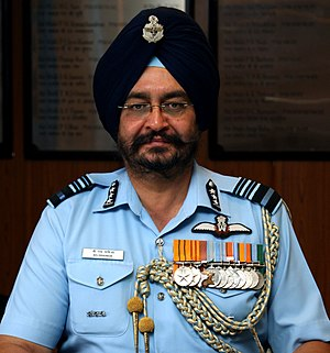 Chief of the Air Staff (India) - Image: Birender Singh Dhanoa