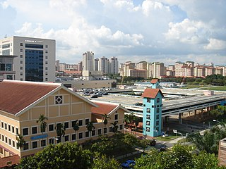 Bishan, Singapore Planning Area and HDB Town in Central Region ----, Singapore
