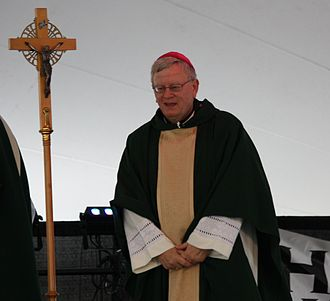 David L. Ricken - Ricken giving homily in 2012