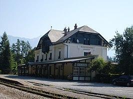 Bled Jezero railway station