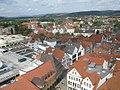 Blick vom Turm der Marktkirche Sankt Nicolai nach Nordwest (Looking NW from spire of Marktkirche Sankt Nicolai) - geo.hlipp.de - 19869.jpg