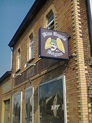 Blue Angels Motorcycle Club - Clubhouse Blue Angels Belgium in Erpe