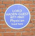 Blue Plaque (Lord Haden-Guest)-36 Tite Street - geograph.org.uk - 1163974.jpg
