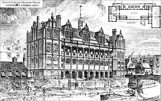 London School Board - Board Schools, Hanover Street (1879)