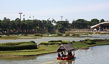 Jakarta-Parks and lakes-Boat ride at TMII