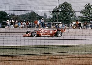 Bobby Rahal - Rahal during the 1986 Indy 500