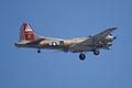 Boeing B-17G-85-DL Flying Fortress Nine-O-Nine Arrival Pass 10 CFatKAM 09Feb2011 (14797263550).jpg