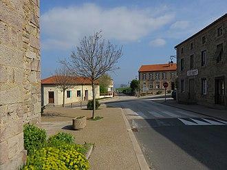 Boisset-Saint-Priest - Image: Boisset Saint Priest Route D102