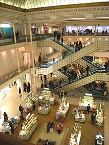 Bon Marché, Paris - interior view.JPG