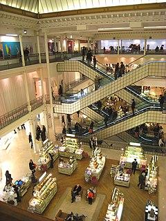 Le Bon Marche Paris Department Store