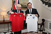 Boris Johnson with Juan Carlos Varela in London - 2018 (27232646267)