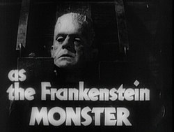Boris Karloff as The Frankenstein Monster from Bride of Frankenstein film trailer.jpg