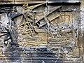 Borobudur - Divyavadana - 108 E, The Shipwreck and Maitrakanyaka meets the four Nymphs (detail 4) (11705421324).jpg