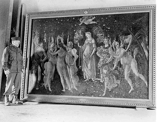 Botticelli's Primavera during WWII