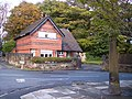 Boundary post on corner of Thomas Lane and Thingwall Lane - geograph.org.uk - 2119247.jpg