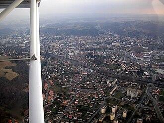 Bourgoin-Jallieu - An aerial view of Bourgoin-Jallieu