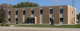 Boyd County, Nebraska - Image: Boyd County, Nebraska courthouse from SW