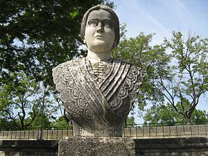 Brémonde de Tarascon - Bust of Brémond inaugurated on 2 May 1965 by the town of Tarascon and the Acadèmia dels Jòcs Florals