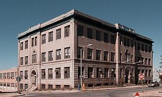 Bradford Durfee College of Technology - Image: Bradford Durfee Textile School