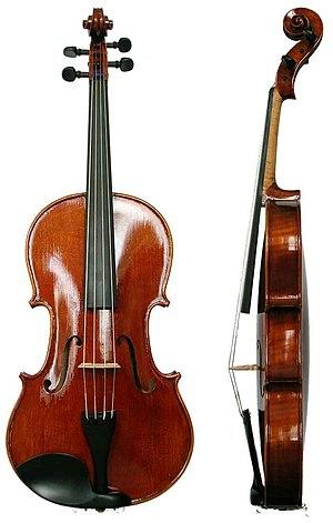 Viola - Image: Bratsche