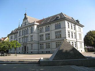 Bremgarten, Aargau - City School building