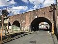 Bridge of former Nishitetsu Kitakyushu Line near Orio Station 2.jpg