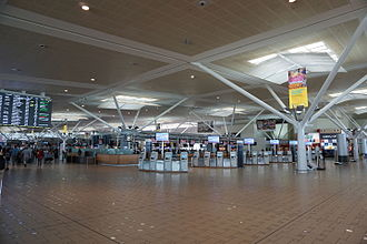 Brisbane Airport - International terminal departures level