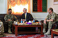 British Ambassador to Afghanistan meets with Helmand officials 140402-M-MF313-108.jpg