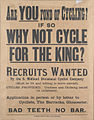 British Army cyclists recruiting poster WWI.jpg